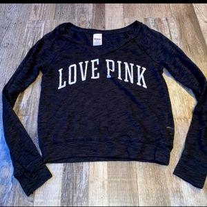 Victoria Secret Pink Long Sleeve sweater Shirt